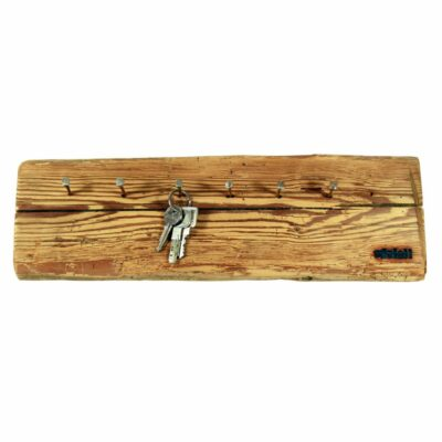 Edelalt - Altholz Schlüsselbrett mit Nägeln